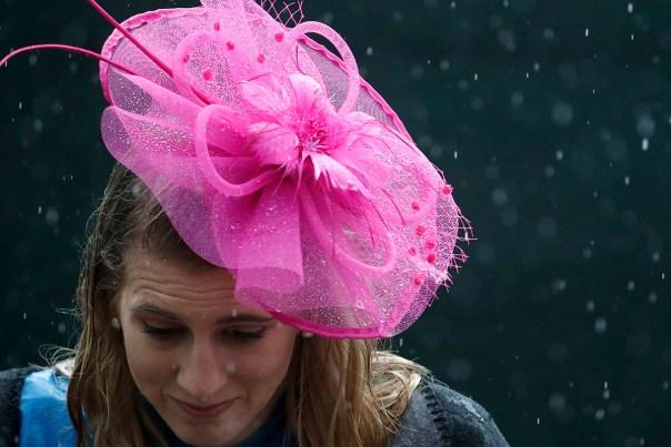 Record-Breaking Rainfall Soaks Derby-Goers