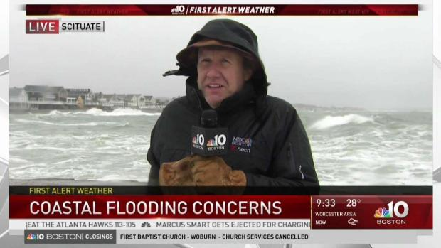 [NECN] Storm Concerns Turn to Flash Freeze, Flooding