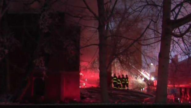 [NECN] Firefighters Battle Six-Alarm Church Fire in Roxbury