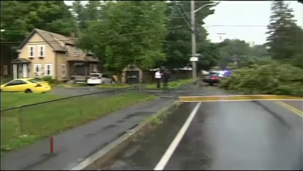 [NECN Video] Lightning Leaves Damage Behind in New England