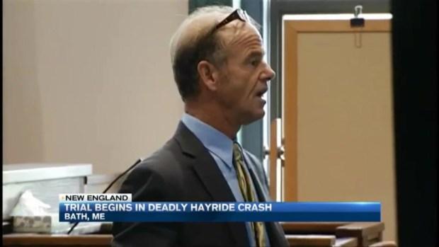 [NECN] Trial Begins in Deadly Maine Hayride Crash