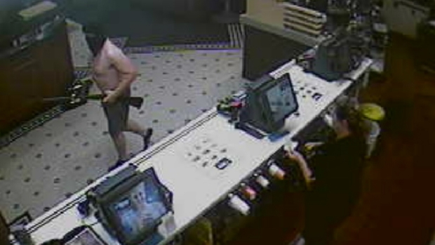 Shirtless, Armed Man Robs N.H. McDonald's