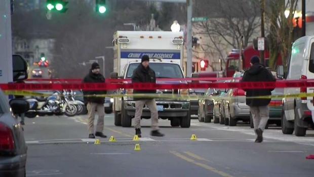 [NECN] 1 Dead in Double Shooting in Roxbury