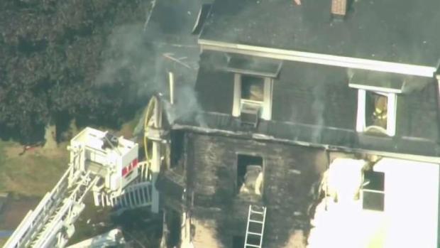 [NECN] 1 Killed, 4 Firefighters Injured in Pepperell Blaze