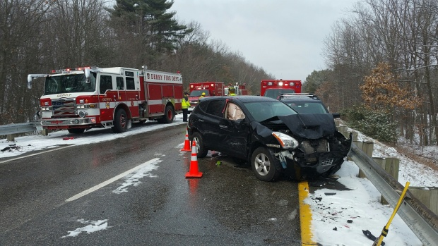 Snow Causes Crashes in NH, Mass., Conn.