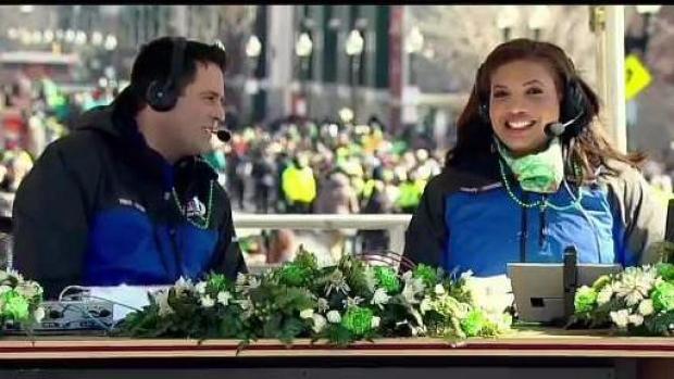 [NECN] Boston's Annual St. Patrick's Day Parade Montage