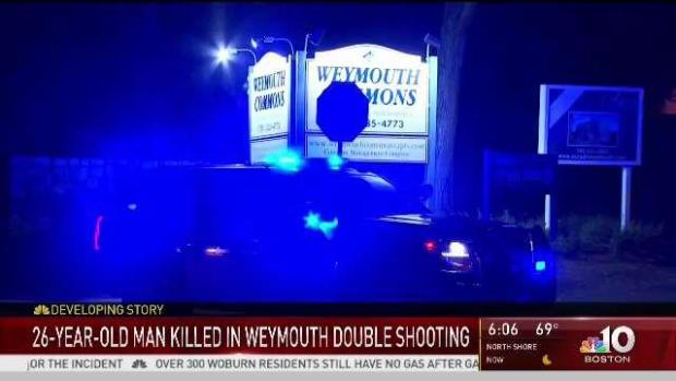 [NECN] 26-Year-Old Man Killed in Weymouth Double Shooting
