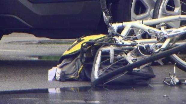[NECN] Bicyclist Struck Killed by Cement Truck in Boston
