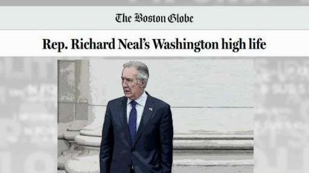 [NECN] Journalist Discusses Congressman Neal's Fundraising, Spending