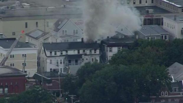 [NECN] 2 Firefighters Among Those Injured in Gas Explosions