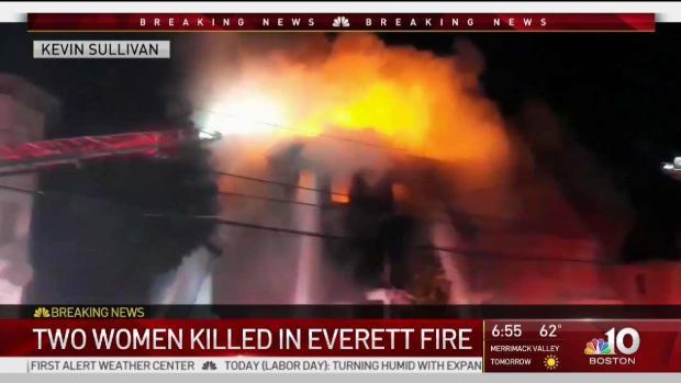 [NECN] 2 Women Killed in Everett House Fire