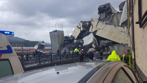 [NATL] Bridge Collapses Over Italian City, Killing More Than 20