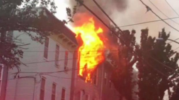 [NECN] 3 Firefighters and 2 Residents Hurt in Southie Blaze