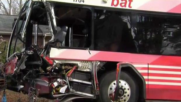 [NECN] 3 Injured in Serious Bus Crash in Brockton
