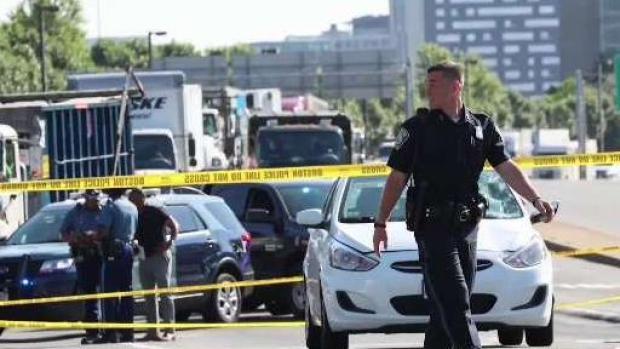 [NECN] Pedestrian Killed in Crash in Roxbury