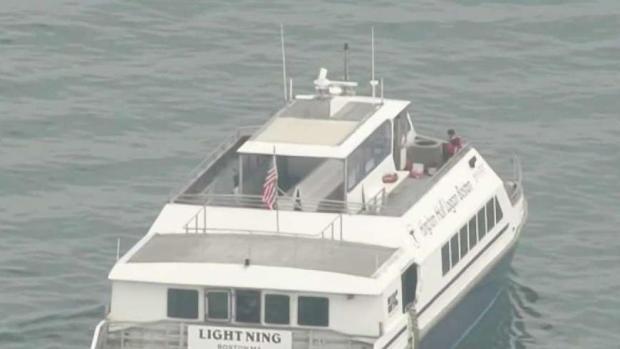 [NECN] 4 Hurt When MBTA Ferry Runs Aground in Boston Harbor