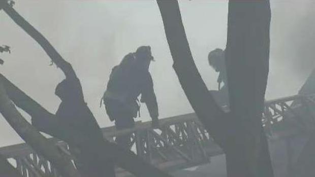 [NECN] 9-Alarm Fire Spread to Several Homes