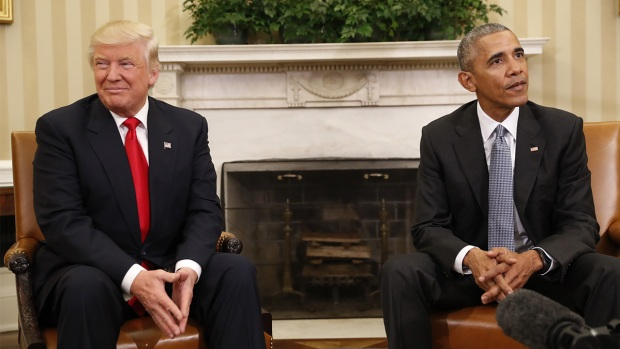[NATL] WATCH: Obama Welcomes Trump to the White House