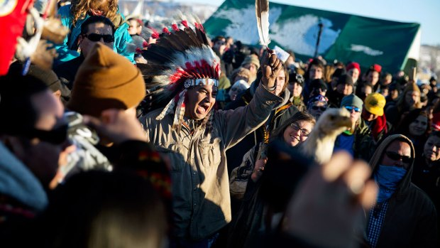 [NATL] Activists Protest North Dakota Pipeline at Standing Rock