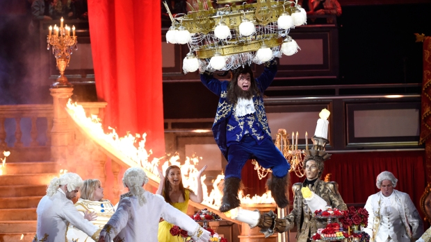 [NATL] MTV Awards Salute 'Beauty and the Beast,' 'Stranger Things'
