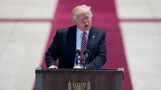 Trump Arrives in Israel During International Trip