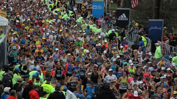 [NATL-BOS]Scenes From the 123rd Boston Marathon