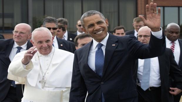 [NECN] Reading Into Pope's White House Visit