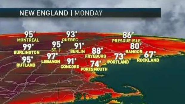 [NECN] A Very Hot Week Ahead