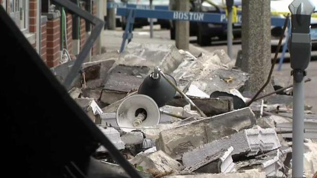 [NECN] Allston Facade Collapse Under Investigation