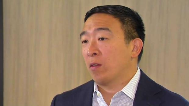 [NECN] Andrew Yang Talks Economy, Plans for the Future