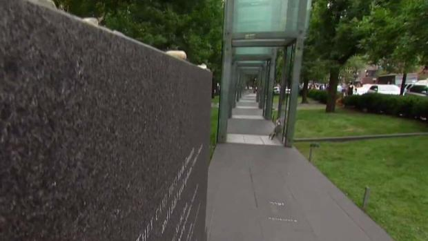 [NECN] Architect Returns to View Damage to Holocaust Memorial