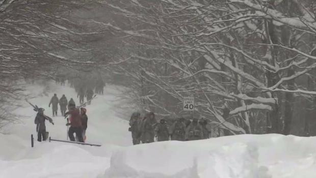 [NECN] Army Soldiers Injured in Vt. Avalanche