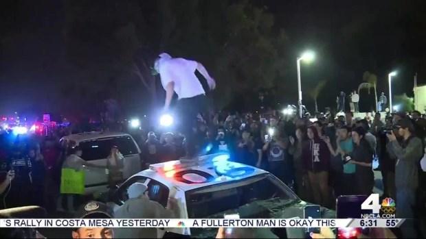 [NATL-LA] 17 Arrested at Trump Rally Protest