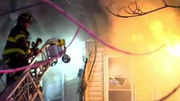 [NECN] At Least 19 Displaced in Revere House Fire