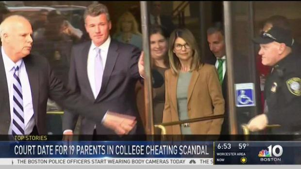[NECN] Attorneys in College Cheating Scheme to Appear in Court
