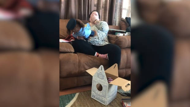 Woman Receives Teddy Bear With Dead Son's Voice Recording