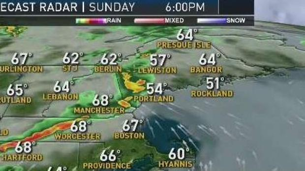 [NECN] Weather Forecast: As Fog Burns Off, Threat for Storms Increases