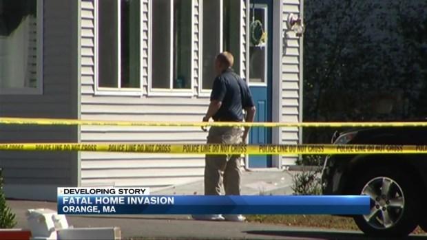 [NECN] Fatal Home Invasion in Orange, Mass.