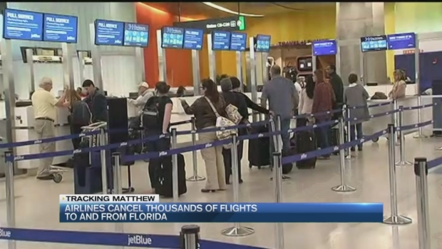 Hurricane Continues to Impact Air Travel Across Region