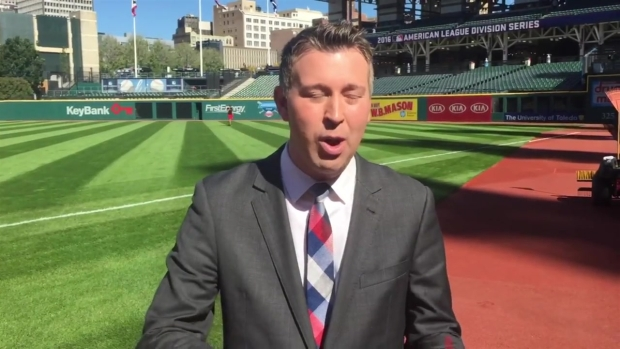 [NECN] The Red Sox Prepare to Face the Indians in Game 2 of the ALDS