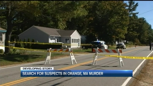 [NECN] Authorities Search for Suspects in Deadly Home Invasion in Orange, Massachusetts
