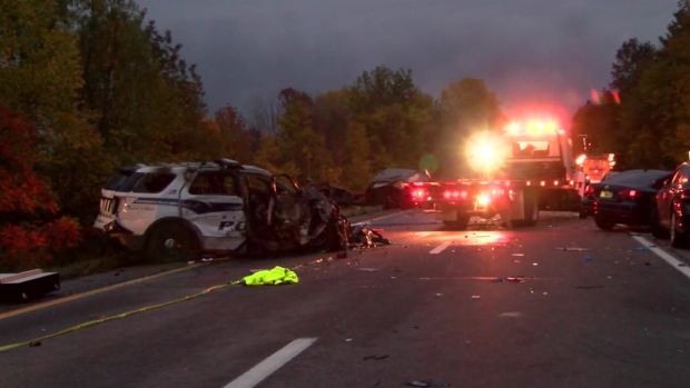[NECN]Police: 5 Killed in Fiery Crash Caused by Wrong-Way Driver