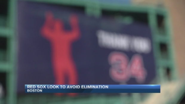 [NECN] Fans Turnout to See Sox Take on Indians at Fenway in Game 3 of ALDS
