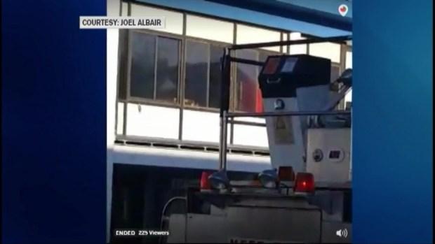 [NECN] Fire Breaks Out at Hampton Beach Casino
