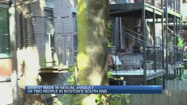 [NECN] Arrest Made in South End Sex Assaults