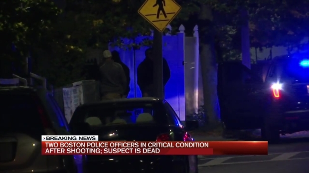 [NECN] 2 Officers Shot in East Boston in Critical Condition