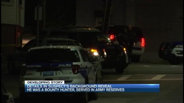 [NECN] East Boston Police Shooting Suspect ID'd