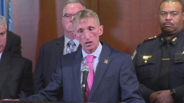 [NECN] Commissioner Evans Answers Questions About East Boston Shooting