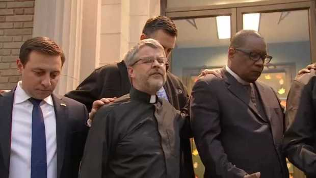 [NECN] City Leaders Gather for Prayer Vigil After Shooting of Boston Police Officers