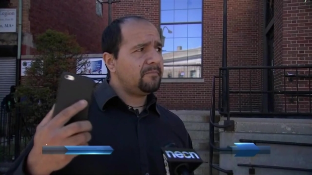 [NECN] East Boston Community Reacts to Police Officer Shooting